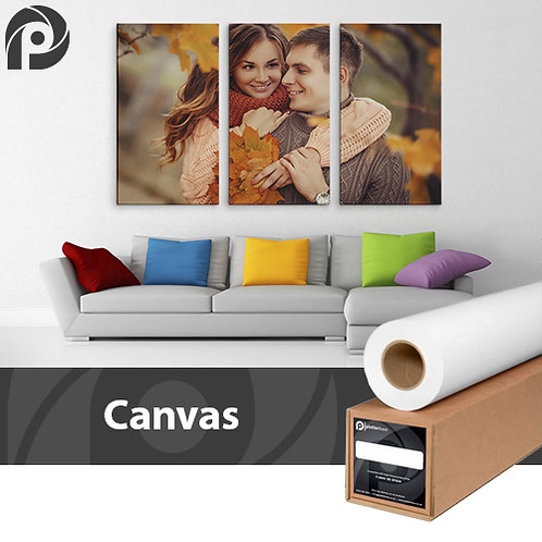 350gsm High White Poly-Cotton Canvas | 432mm | 15m