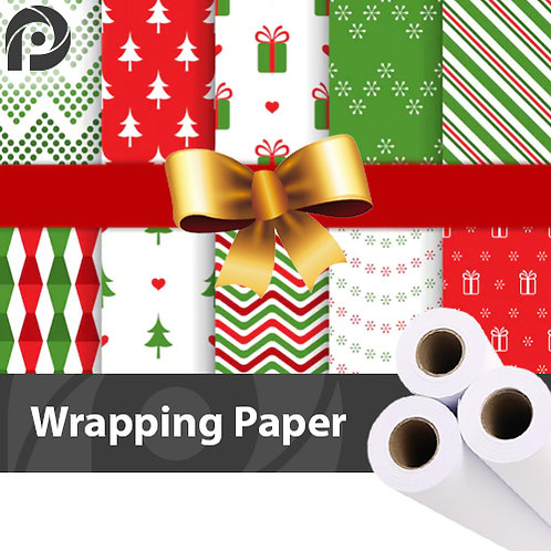 100gsm Wrapping Paper | 610mm | 3 x 45m Rolls