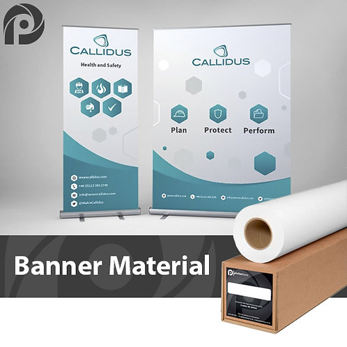 210mic Roll Up Banner Film | 914mm | 30m