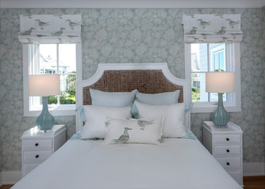 Seagrass, Birds and Trees Bedroom