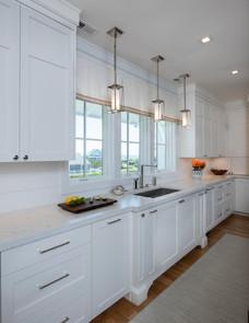 White on White Kitchen