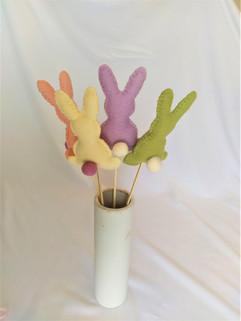 Créations lapins de Pâques