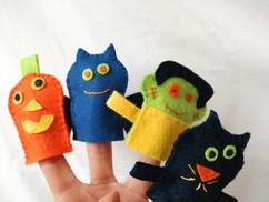 Marionnettes Halloween