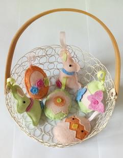 Déco de Pâques tendres et colorés - Patt