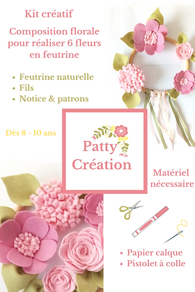 Kit créatif pour composition florale