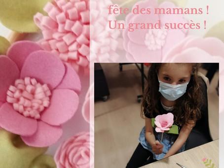 Reprise des ateliers couture pour la fête des mamans !