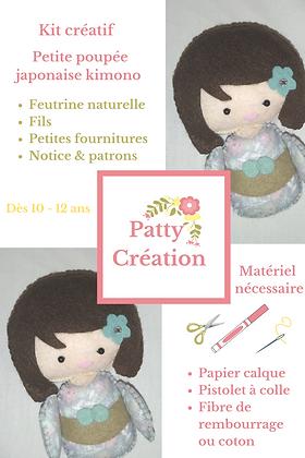 Kit créatif poupée
