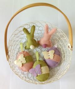 Décorations lapins et oeufs de Pâques Pa