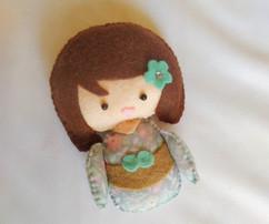 poupée inspiration japonaise