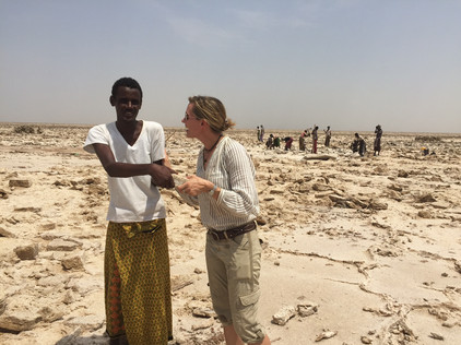 """Mohammed gifted me with salt, the Afar's """"white gold"""""""