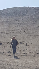Leaving the Atacama Giant for the last time. Reluctantly.