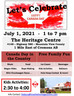 Canada Day Celebration at the Big Red Barn!