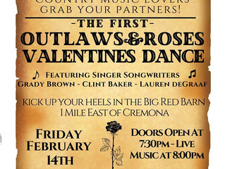 Outlaws & Roses Valentine's Dance