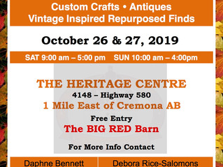 Heritage Treasures Fall Festive Market - FREE ENTRY!!!
