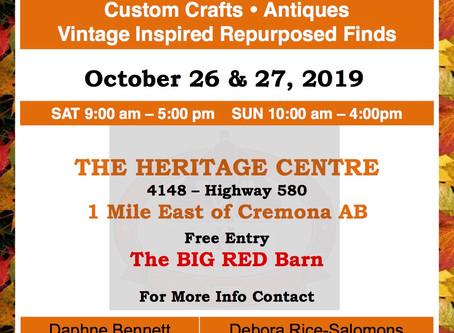 Heritage Treasures Fall Festive Market - FREE ENTRY!!!