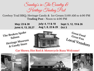 Sundays in the Country & Heritage Trading Post