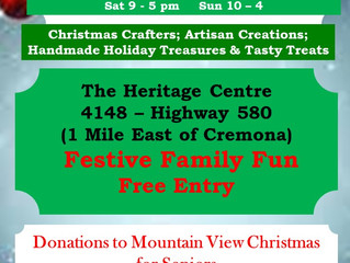 *AHS Approved!!!* Heritage Treasures CHRISTMAS MARKET