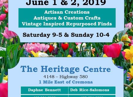 Heritage Treasures Springtime Market 2019