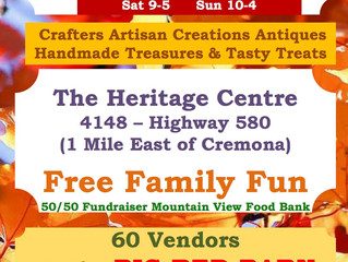 2020 Annual Heritage Treasures FALL MARKET