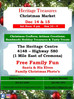 Heritage Treasures Christmas Market - Free Family Fun!