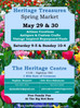 "The Heritage Centre's Annual ""HERITAGE TREASURES Spring Market"""