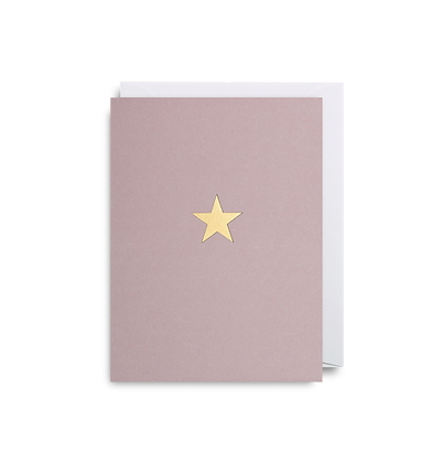 Gold Star Mini Card