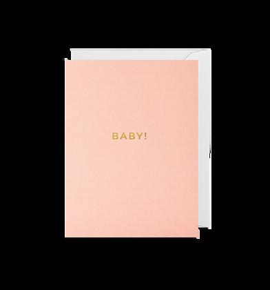 Baby Girl Mini Card