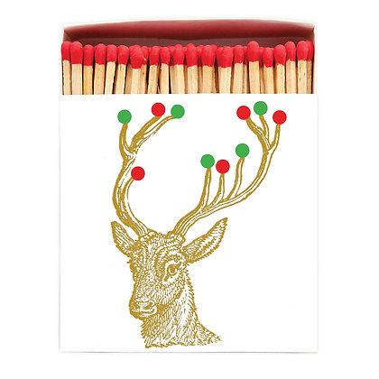 Christmas Gold Deer matches