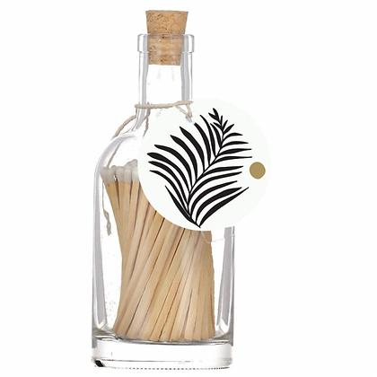 White fern matches bottle