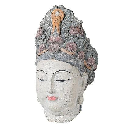 Large Goddess Buddha Head
