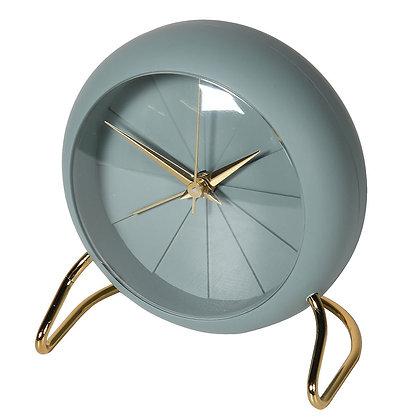 Retro Sage Green Alarm Clock