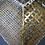 Thumbnail: Medium Gold Metal Hanging Heart