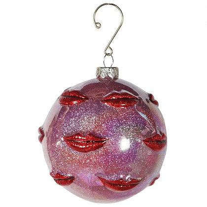 Pink Multi Lips Bauble
