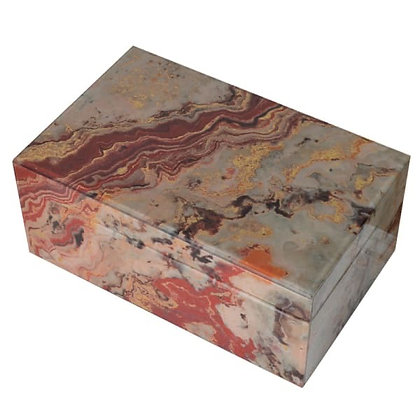 Marble boxes set of 2