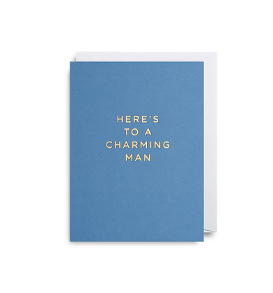 Charming Man Mini Card