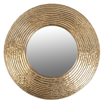 Large round golden mirror( avaliable to order ) please call shop direct