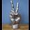 Thumbnail: Large Silver Peace Hand