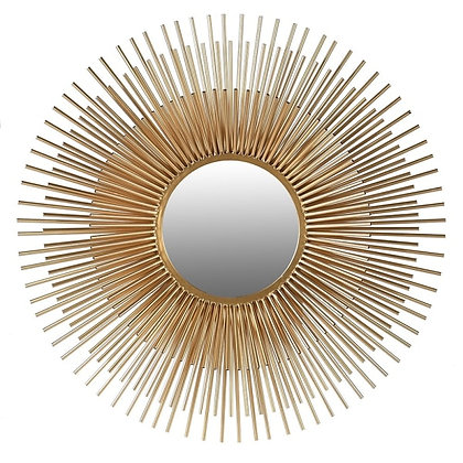 Small 3D Sunburst Mirror
