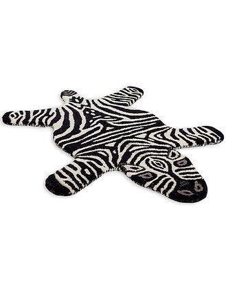 Small Zebra Woolen Rug