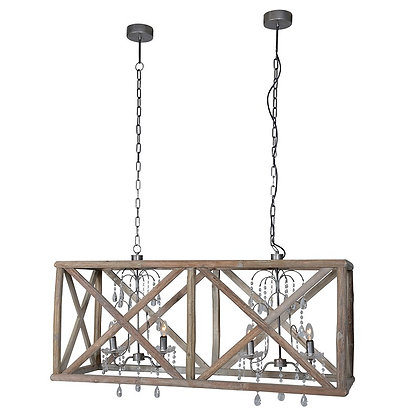 Rustic wooden double chandelier( avaliable to order ) please call shop direct