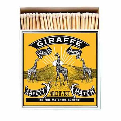 Giraffe box matches