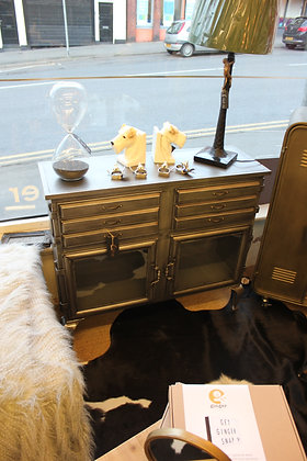 Metal sideboard (avaliable to order) please call shop direct