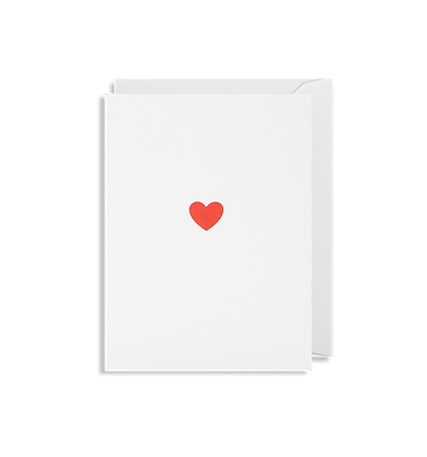 Little Heart Mini Card