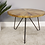 Thumbnail: Wooden Coffee Table W Rebar Legs