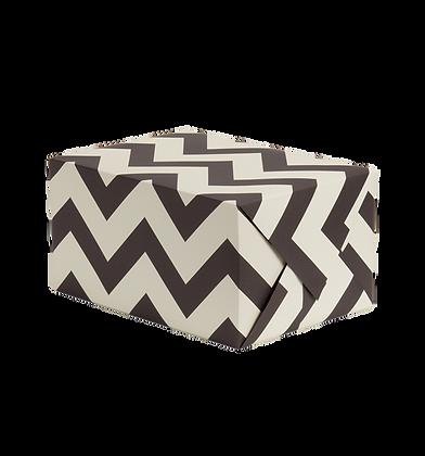 Geometric Black and White Gift Wrap