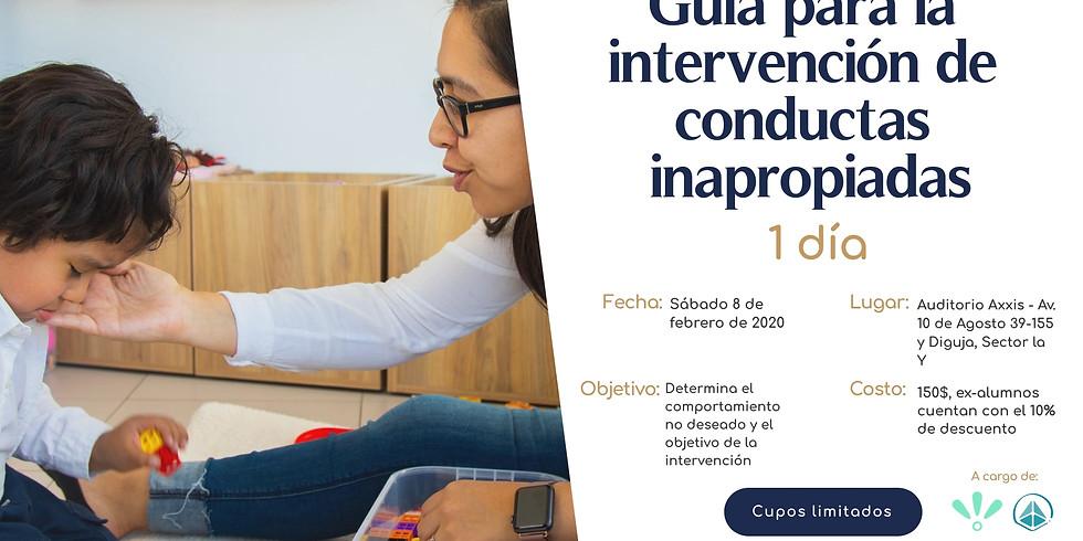 Guía para la intervención de conductas inapropiadas