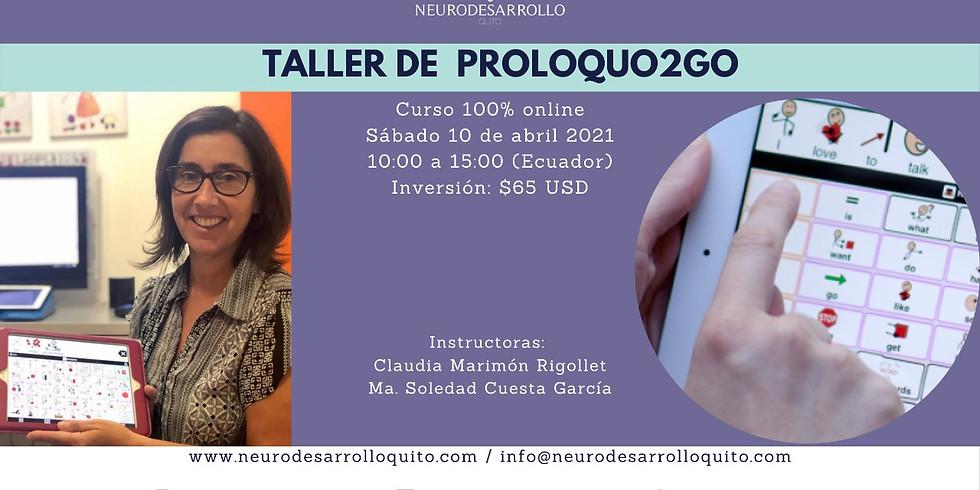 Taller de Proloquo2go