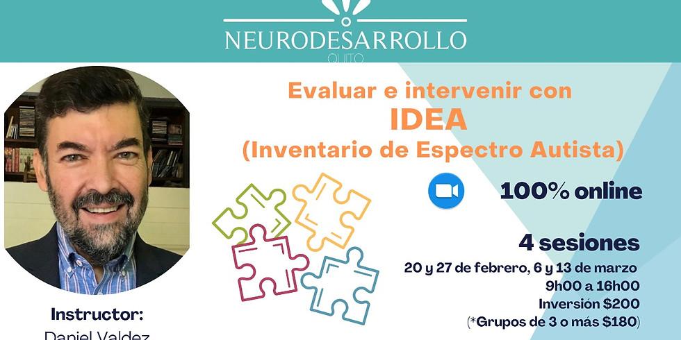 Evaluar e intervenir con IDEA (Inventario de Espectro Autista)