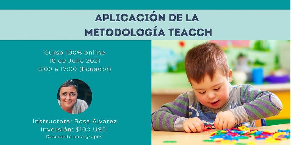Aplicación de la metodología TEACCH