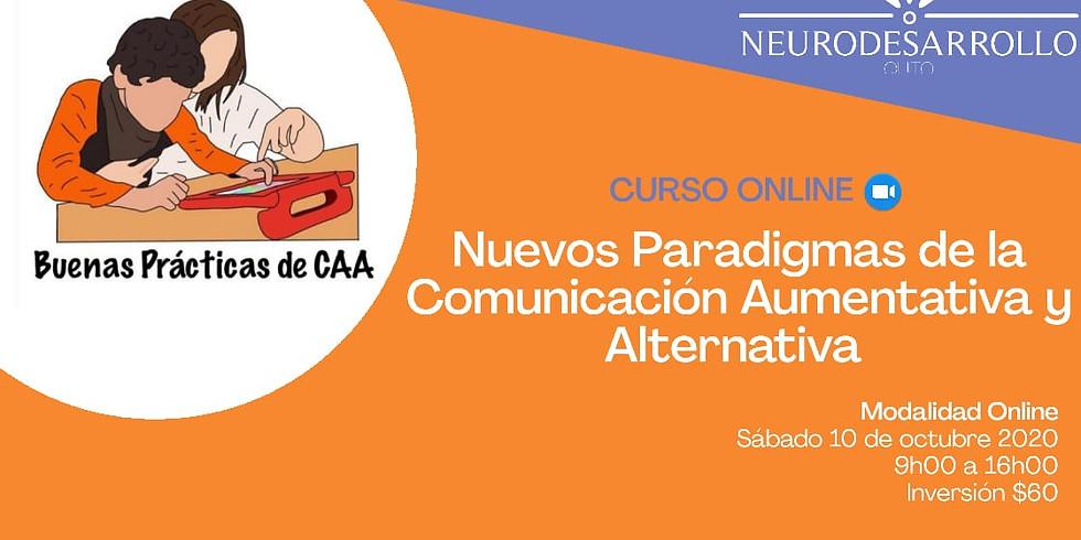 NUEVOS PARADIGMAS DE LA COMUNICACION AUMENTATIVA Y ALTERNATIVA